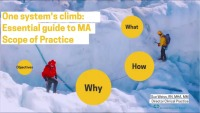 One System's Climb: Essential Guide to MA Scope of Practice