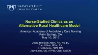 Nurse-Staffed Clinics as an Alternative Rural Healthcare Model