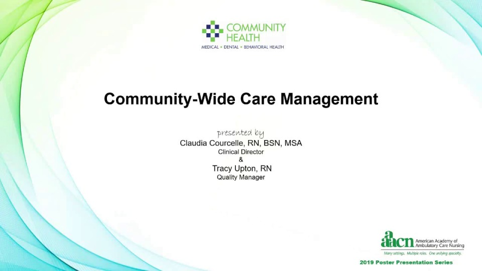 Community-Wide Care Management