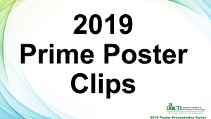 AAACN 2019 Prime Poster Clips