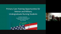Primary Care Training Opportunities for Veteran and Military Undergraduate Nursing Students