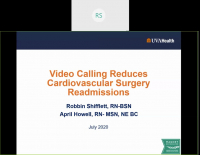 Video Calling Reduces Cardiovascular Surgery Readmissions