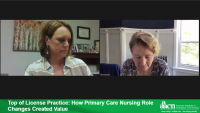 Top of License Practice: How Primary Care Nursing Role Changes Created Value