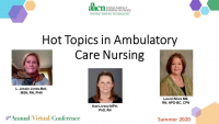 Academic and Practice Partnerships: Advancing Ambulatory Care Nursing Practice