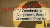 Aspire to Create a Standardized Competency-Based Orientation Checklist