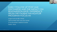 Post-AMI Discharge Follow-Up Strategies and the Impact on Readmission Rate: Experience from the ACC Patient Navigator Program