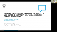 Utilizing the ICAN Tool to Assess the Impact of Life Burdens on Patient Self-Management of Chronic Conditions