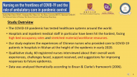 Nursing on the Front Lines of COVID-19 and the Role of Ambulatory Care in Pandemic Control