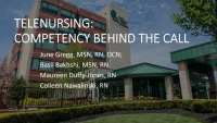 Telenursing: Competency Behind the Call