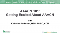 AAACN 101: Getting Excited About AAACN icon