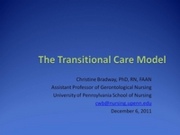 The Transitional Care Model icon