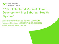Patient Centered Medical Home Development in a Suburban Health System icon