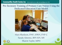 Pre-Licensure Training of Primary Care Nurses Using the Dedicated Education Unit Model