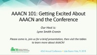AAACN 101: Getting Excited About AAACN and the Conference