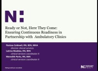 Ready or Not, Here They Come: Ensuring Continuous Readiness in Partnership with Ambulatory Clinics