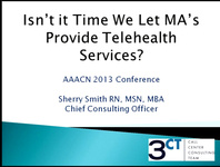 Isn't It Time We Let MAs Provide Telehealth Services?