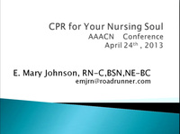 CPR for Your Nursing Soul