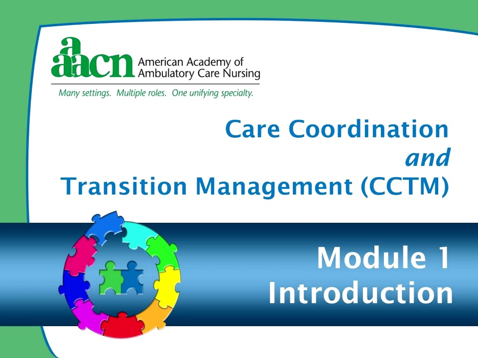 Module 1 Care Coordination And Transition Management