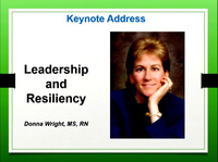 Keynote Address: Leadership and Resiliency