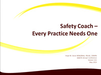 Safety Coaches - Every Practice Needs One!