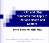 URAC and Other Standards that Apply to TNP and Health Call Centers