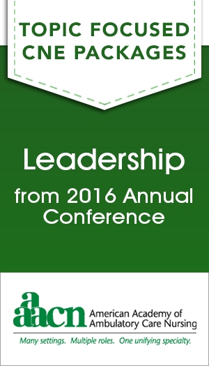 Leadership from 2016 Annual Conference