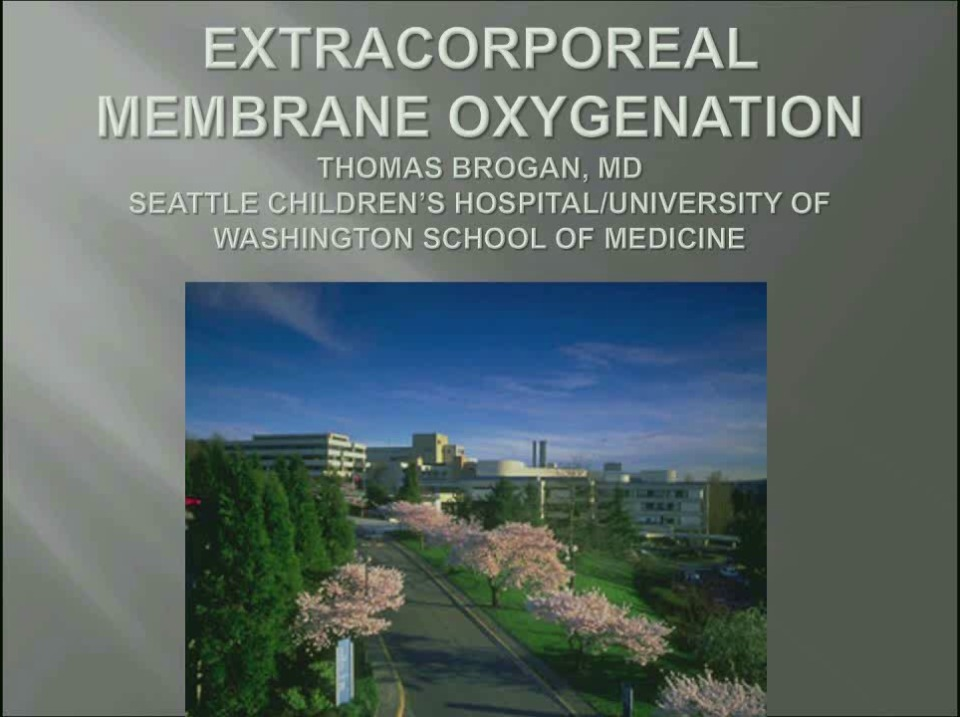 MN2-18: Hemostasis on Extracorporeal Membrane Oxygenation Therapy
