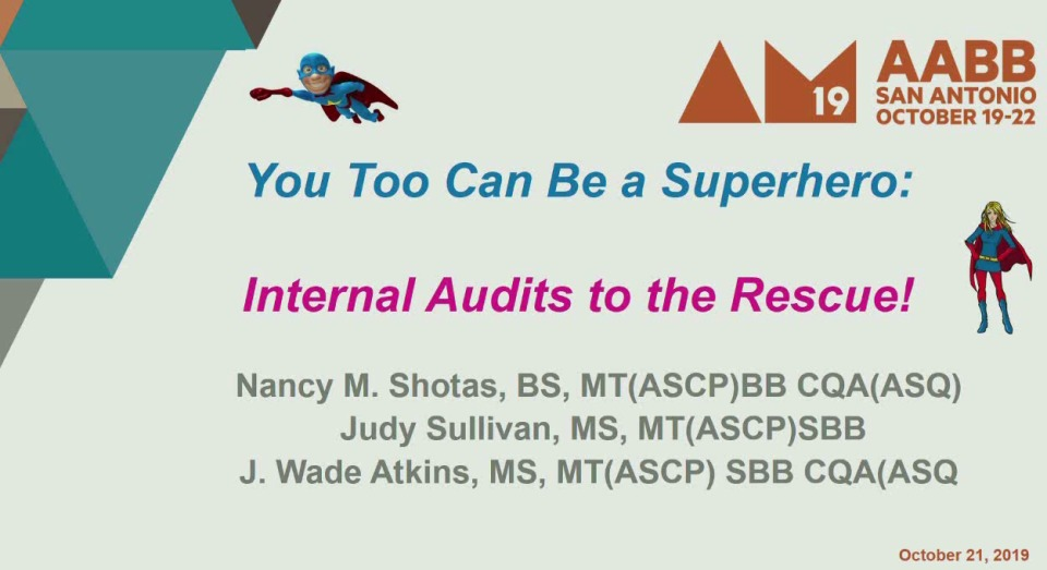 MN1-07: You Too Can be a Superhero: Internal Audits to the Rescue!