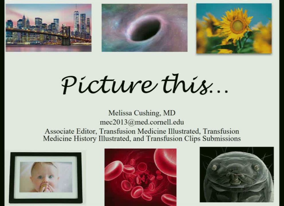 SN2-12: Picture This: Instances and Images from Transfusion Medicine (& History!) Illustrated