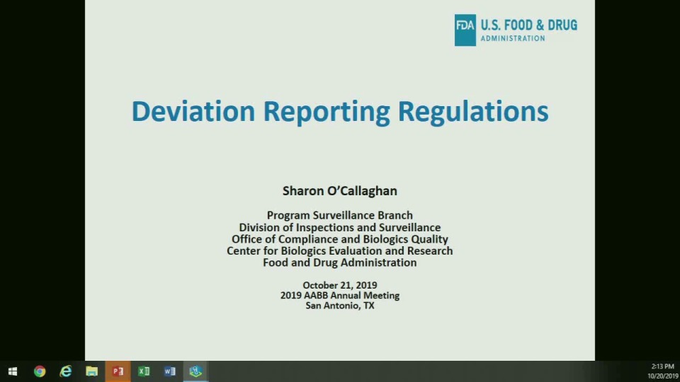 SN4-24: To Tell the Truth: FDA Reportable or Not?
