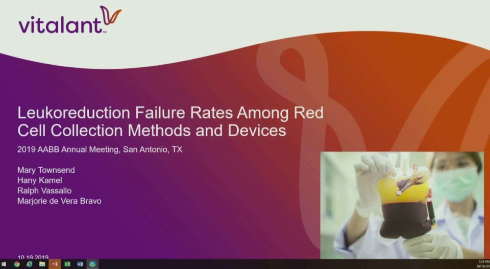 ST4-29: Oral Abstract Session:Red Blood Cell Preparation and Storage