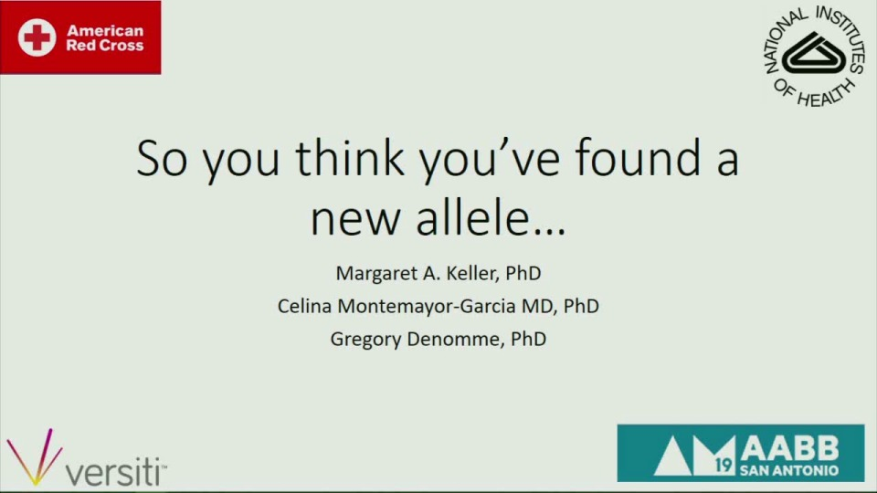 MN3-23: So You Think You've Found a New Allele