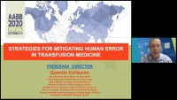AM20-43: Strategies for Mitigating Human Error in Transfusion Medicine