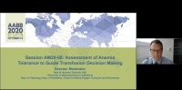 AM20-08: Assessment of Anemia Tolerance to Guide Transfusion Decision Making