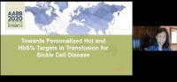 AM20-11: Towards Personalized Hct and HbS Targets in Transfusion for Sickle Cell Disease