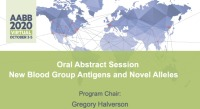 AM20-19: Oral Abstract Session -- New Blood Group Antigens and Novel Alleles
