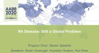 AM20-42: Rh Disease: Still a Global Problem