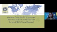 AM20-49: Updates from the 2019 National Blood Collection and Utilization Survey (NBCUS) and Beyond