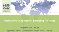 AM20-63: Alternatives to Apheresis: Emerging Therapies