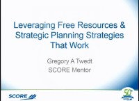 Leveraging Free Resources and Strategic Planning That Work