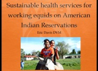 Sustainable Health Services for Working Equids on American Indian Reservations