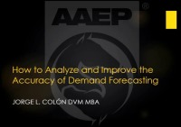 How to Analyze and Improve the Accuracy of Veterinary Inventory Demand Forecasting