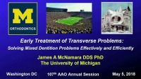 Early Treatment of Transverse Problems: Is it Worth the Effort?