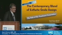 The Contemporary Blend of Esthetic Smile Design: The Role of the Case Presentation