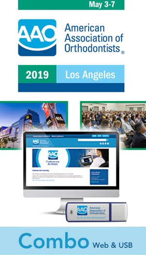 2019 AAO Annual Session Conference - Combo