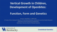 Vertical Growth in Children, Development of Open Bites