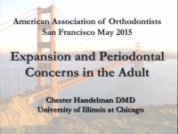 Expansion and Periodontal Concerns in Adults