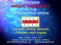 Managing Medical Emergencies in the Orthodontic Office