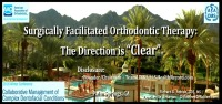 """Surgically Facilitated Orthodontic Therapy (SFOT): The Direction is """"Clear"""" icon"""