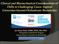 Clinical and Biomechanical Considerations of TADs in Challenging Cases: Sagittal Correction Beyond Orthodontic Boundaries
